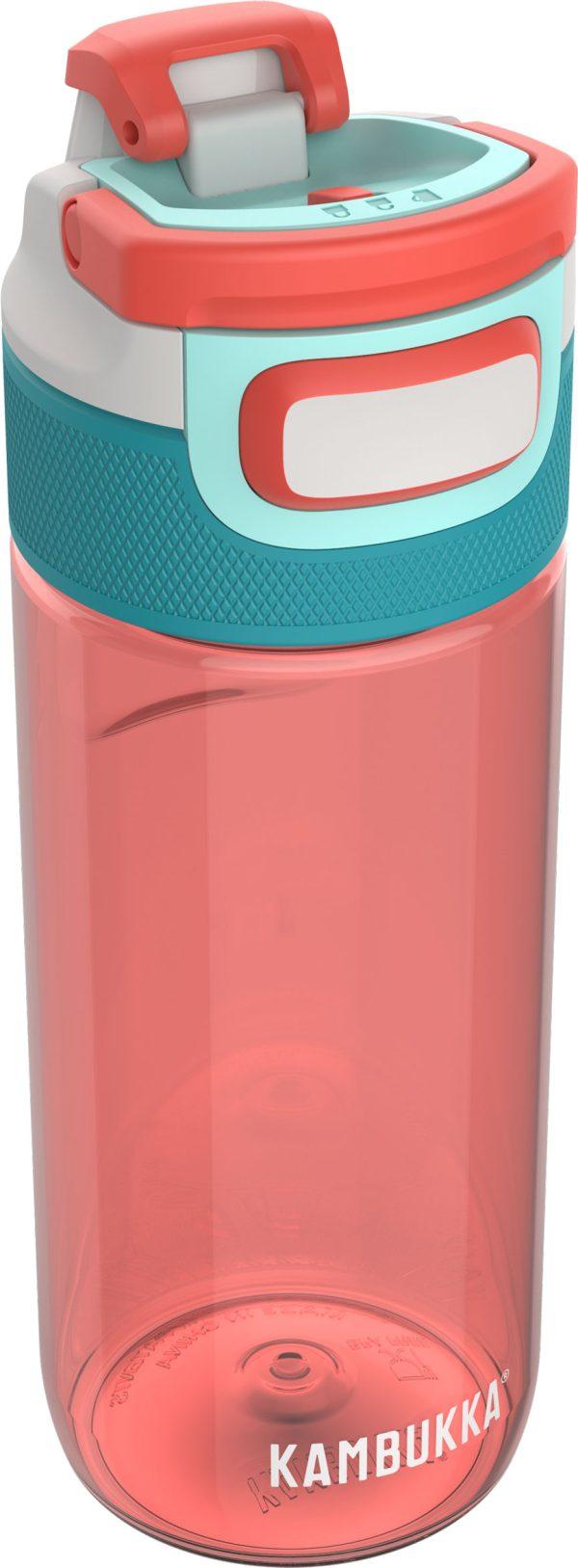 """בקבוק שתיה אדום 500 מ""""ל Kambukka Living Coral קמבוקה"""