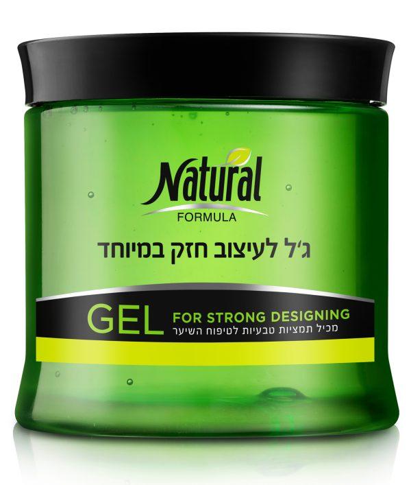 ג׳ל לעיצוב חזק במיוחד 500 גרם נטורל פורמולה Natural Formula