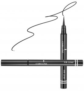 """איילינר טוש גמיש 3 מ""""ל Careline Ink Liner Black"""