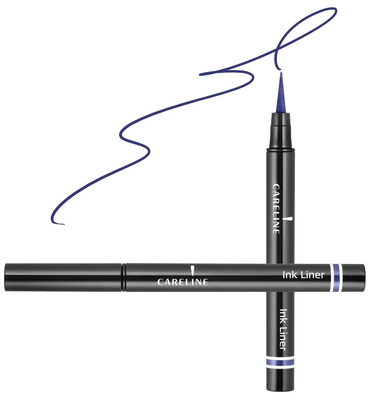 """איילינר טוש גמיש 3 מ""""ל Careline Ink Liner Blue"""