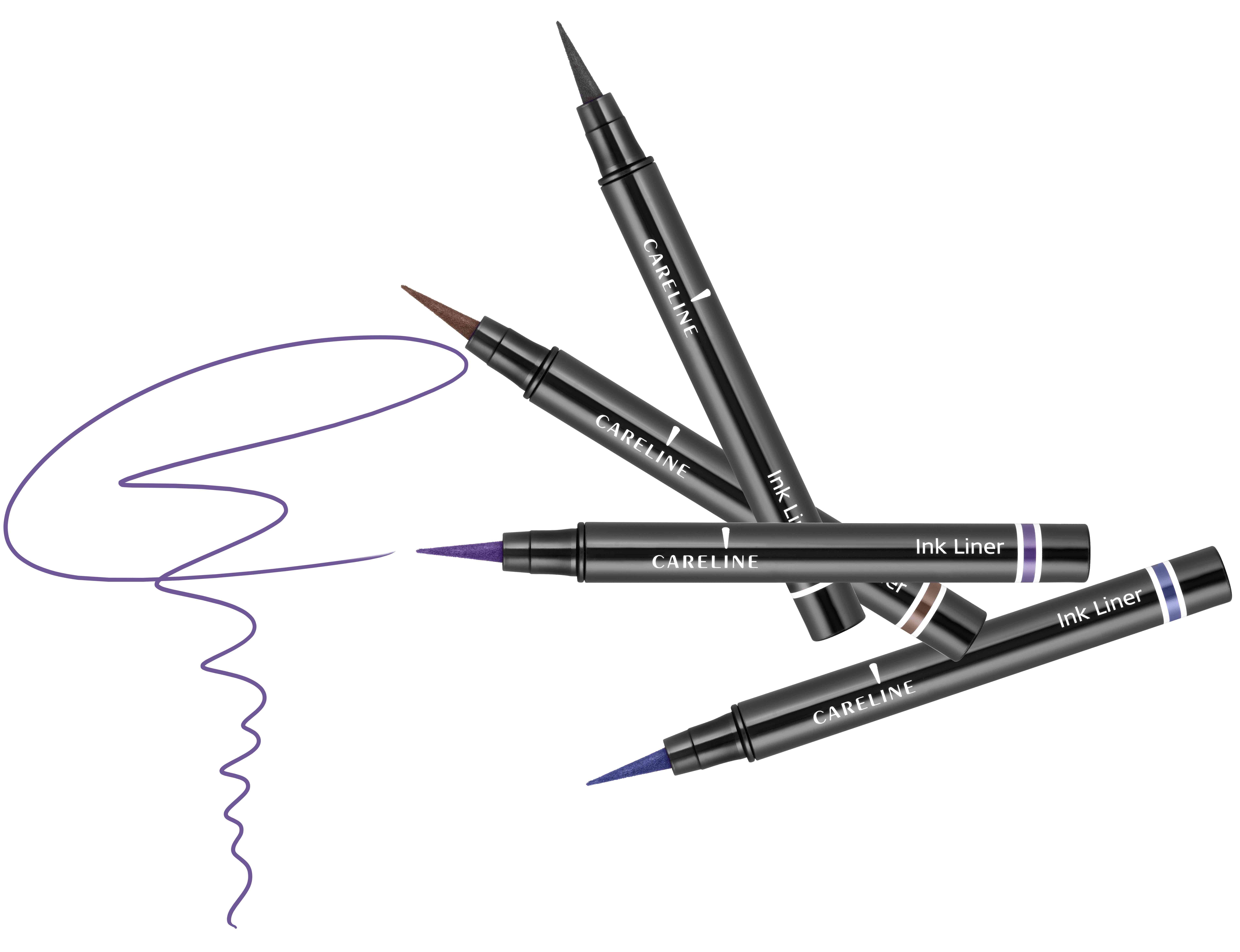 """איילינר טוש גמיש 3 מ""""ל Careline Ink Liner"""