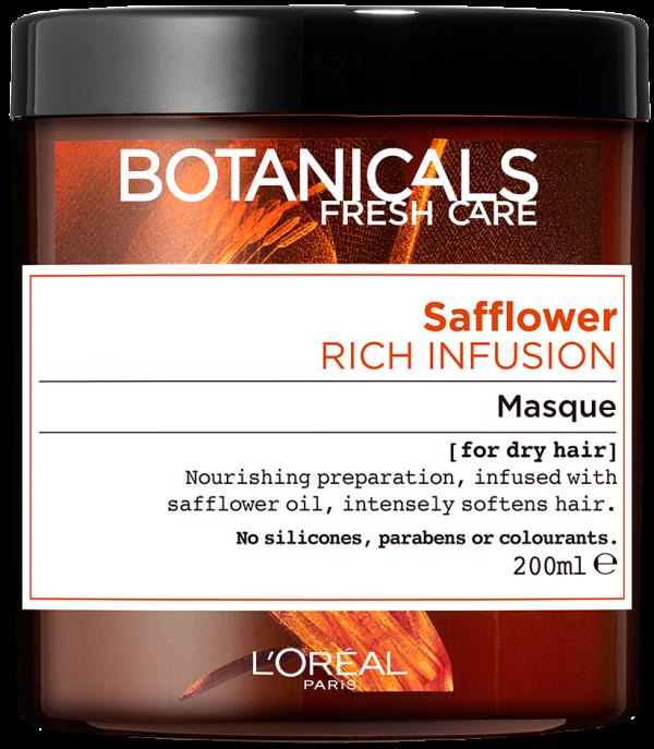 "מסכה להזנה אינטנסיבית לשיער יבש 200 מ""ל L'Oréal Paris Botanicals Fresh Care Safflower For Dry Hair"