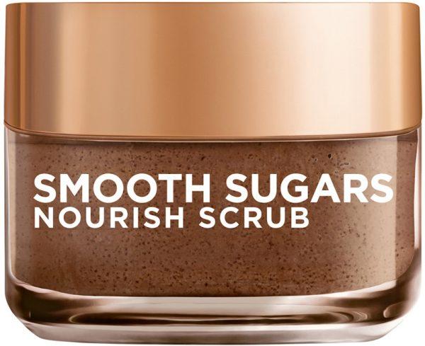 """גרגרי פילינג סוכר להזנת העור 50 מ""""ל L'Oréal Paris Smooth Sugars Nourish Scrub"""