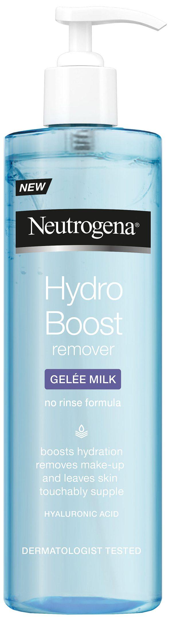 חלב פנים ג'ל מסיר איפור ומעניק לחות מסדרת ®Hydro Boost