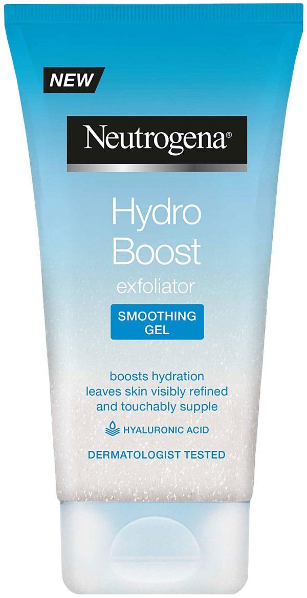 תרחיץ גרגירים ג'ל לניקוי הפנים, מעניק לחות לעור מסדרת ®Hydro Boost