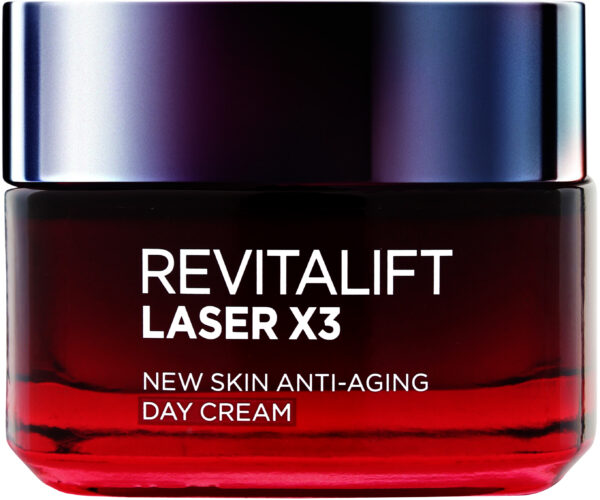 "קרם יום רויטליפט לייזר 50 מ""ל L'Oréal Paris Revitalift Laser Renew X3 Day Cream"