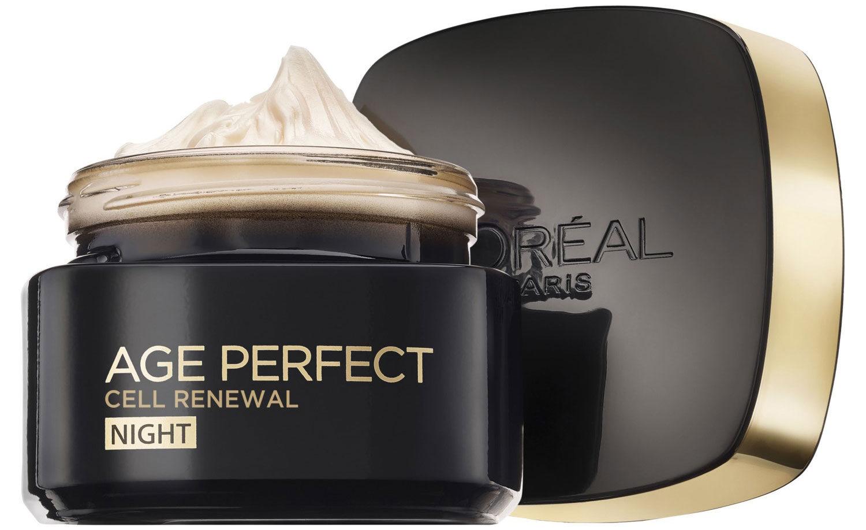 """אייג פרפקט רנסנס קרם לילה 50 מ""""ל L'Oréal Paris Age Perfect Renaissance Cell Renew"""