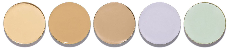 פלטת 5 סוגי קונסילרים אינפיליבל טוטאל קאבר Infaillible Total Cover L'Oréal Paris
