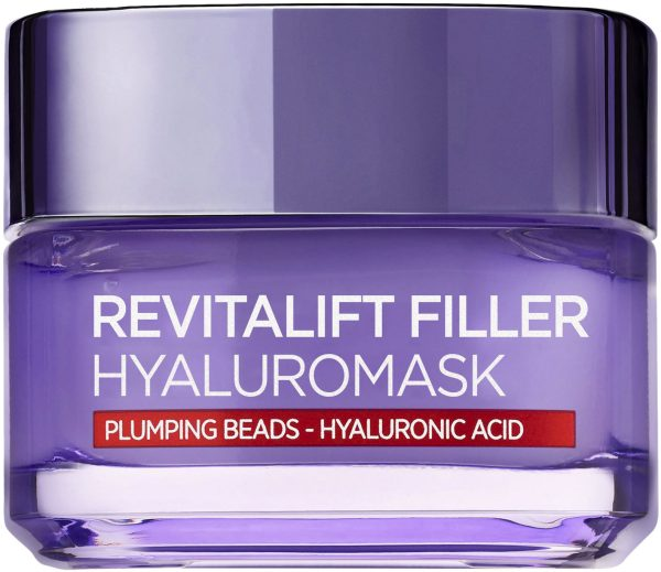 "רויטליפט מסכת פילר 50 מ""ל L'Oréal Paris Revitalift Filler Mask Plumpy Beads"