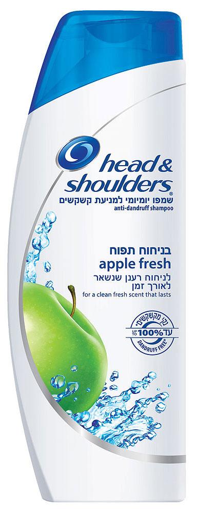 """הד אנד שולדרס שמפו תפוח 500 מ""""ל Apple Fresh"""