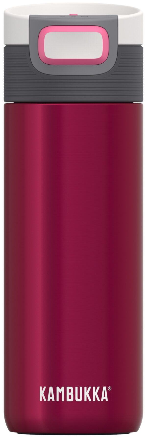 """בקבוק שתיה תרמי אדום 500 מ""""ל קמבוקה Kambukka Etna"""