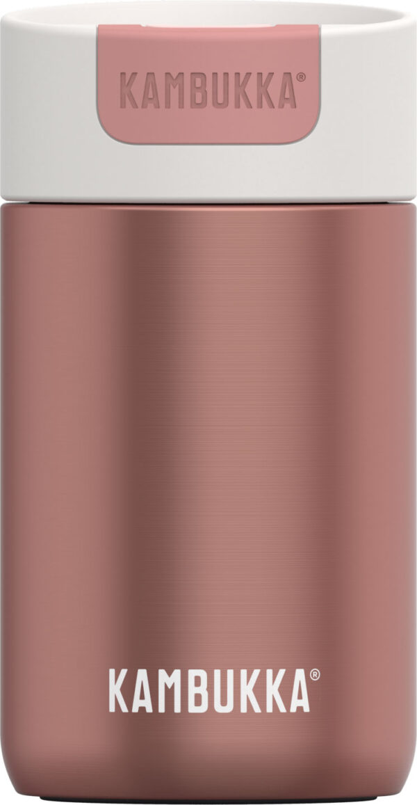 בקבוק שתיה תרמי 300 מ״ל רוזגולד Kambukka Olympus Misty Rose