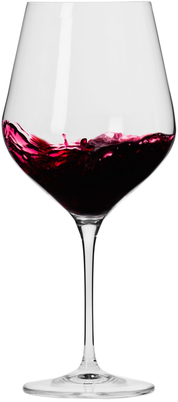 "סט 6 כוסות יין אדום 850 מ""ל Krosno Splendour Collection Red Wine Glass"
