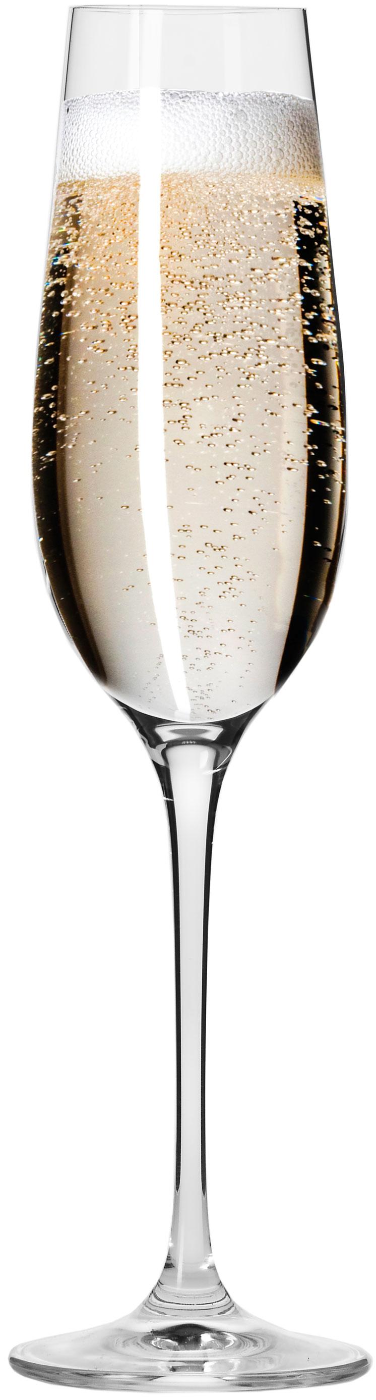 """סט 6 כוסות שמפניה Krosno 180 מ""""ל Harmony Collection Champagne Flute"""