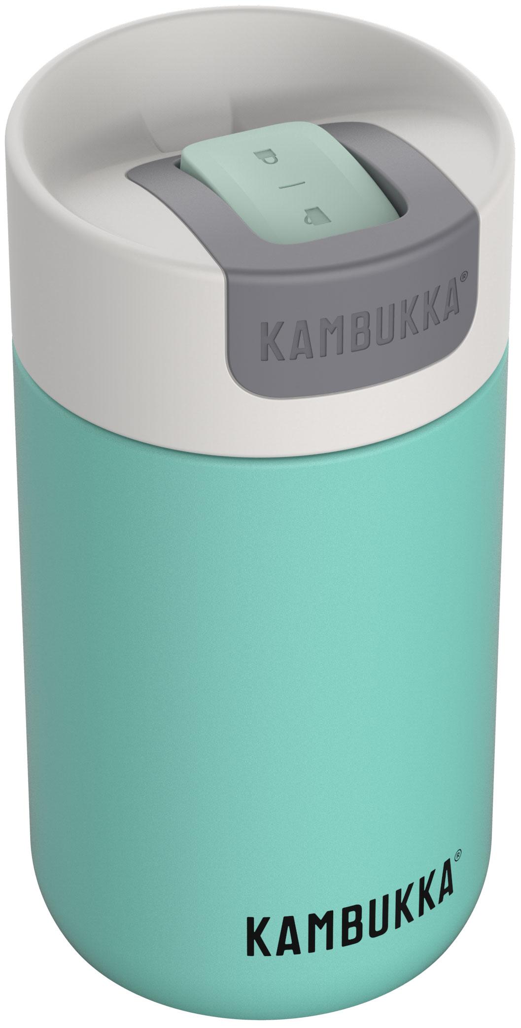 """בקבוק שתיה תרמי 300 מ""""ל תכלת Kambukka Olympus קמבוקה"""